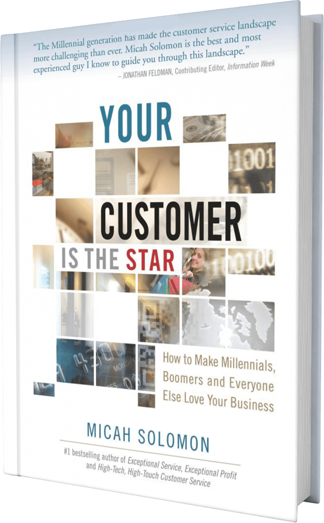 your customer is the star book cover