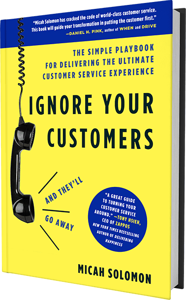 Ignore your customers book cover